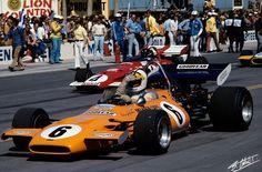 Denny Hulme and Jacky Ickx.