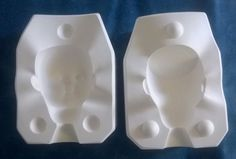 Vintage 1980s Brenda Doll Head Ceramic Doll Parts Mold Byron #B-371A by RennerLaDifference on Etsy
