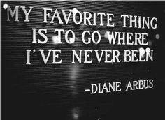 And then wander, not because I'm lost but because I love to wander and explore in a new place!