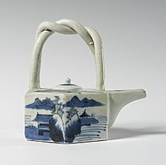 Teapot with lid, Qing Dynasty (1644-1911)  Chinese    Ceramic