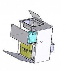 Küchenblock, VW Bus
