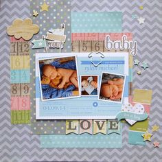 Creative Living: Baby Layout