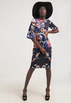 Closet - Robe d'été - navy Cold Shoulder Dress, Dresses With Sleeves, Long Sleeve, Kimono, Fashion, Fashion Ideas, Womens Fashion, Gowns With Sleeves, Moda