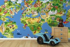 Animal Kingdoms Wall Mural
