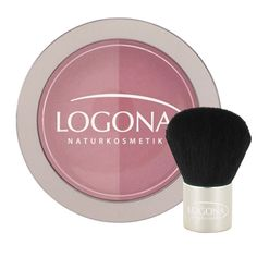 Using blush can change your whole look with just the sweep of a brush! Applied properly, blush can give you a rosy glow and better define your cheekbones.  Logona blushes come in duo compacts with a ...