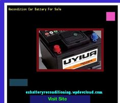 Battery Reconditioning - Recondition Car Battery For Sale 143751 - Recondition Your Old Batteries Back To 100% Of Their Working Condition! Save Money And NEVER Buy A New Battery Again
