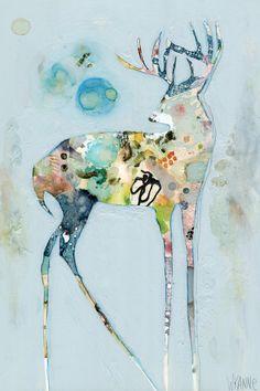 Strength by Wyanne - canvas print