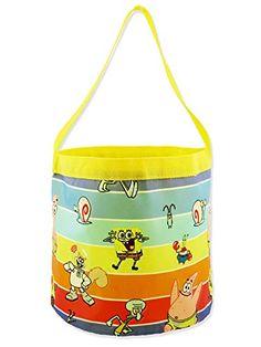 MARVEL SPIDER-MAN Nylon Collapsible Pail HALLOWEEN//EASTER Bucket//Basket NEW!