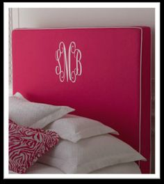 """""""Emporia"""" Headboard at Horchow would be so cute for Reesie's big girl room!"""