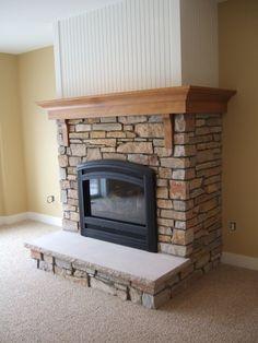 Wrap around mantel | Fireplace Remodel | Pinterest | Mantels ...