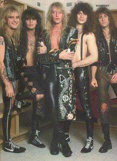 Warrant 80s Metal Bands, 80s Hair Metal, 80s Rock Bands, Hair Metal Bands, 80s Hair Bands, Heavy Rock, Heavy Metal, Glam Rock Makeup, Jani Lane