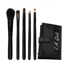 Essential Makeup Brush Set - Set De 5 Pinceaux