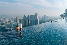 where in the world is this rooftop swimming pool?