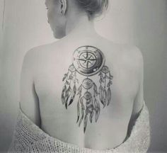 compass dream catcher on the right idea of what im thinking about