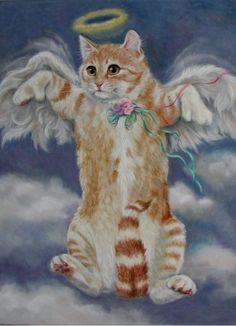 """""""Kitten Angel"""" par Joy Campbell"""