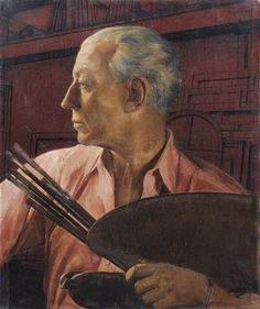 AUTOPORTRAIT À LA PALETTE BERNARD BOUTET DE MONVEL, 1932 by Bernard Boutet de Monvel (French 1881-1949) OIL ON CANVAS
