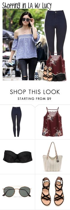 """Shopping in LA w/ Lucy"" by mikkielaine ❤ liked on Polyvore featuring OuiHours, Ray-Ban and Michael Kors"