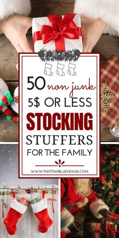 50 Stocking Stuffers Under 5 For The Whole Family 50 Stocking Stuffers Under 5 For The Whole Family Joan Guinn djoanguinn stocking stuffers Here is a massive collection of nbsp hellip ideas things to do with your boyfriend Stocking Stuffers For Adults, Stocking Stuffers For Teens, Christmas Stocking Stuffers, Stocking Stuffers For Boyfriend, Stocking Fillers For Adults, Homemade Stocking Stuffers, Inexpensive Stocking Stuffers, Diy Christmas Gifts For Family, Christmas On A Budget