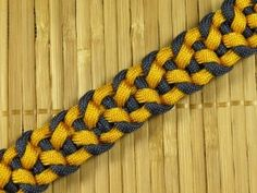 How to make an Interlock Paracord Buckle Bracelet - YouTube