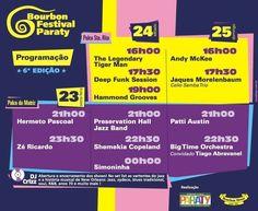 Contagem regressiva para o Bourbon 2014  Festival Internacional de Jazz, Blues, R&B e Soul chega a sexta edição em Paraty. Evento será no penúltimo fim de semana de maio #pousadadocareca #paraty #bourbon #jazz #soul #blues #festival #evento