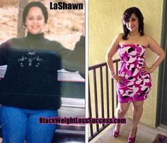 Weight Loss Story: LaShawn lost 50 pounds   Black Weight Loss Success