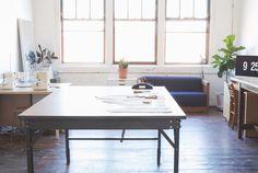 Old Studio Workspace | Grainline Studio