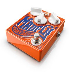 Guitar Pedal - the Madfly has a cool look