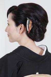 留袖に似合う髪型集「結婚準備室」