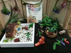 Imaginative play - Wombat stew