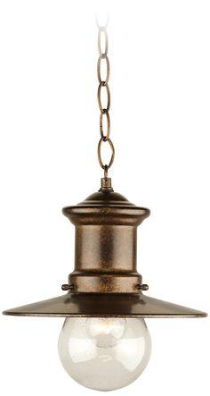 "Maritime Collection 10"" High Hanging Outdoor Light   LampsPlus.com"