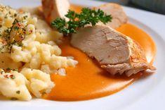 Inspirace na zítřejší oběd. Autor: Naďa I. (Rebeka) No Salt Recipes, Cooking Recipes, Healthy Recipes, Gnocchi, Risotto, Mashed Potatoes, Food And Drink, Menu, Ethnic Recipes