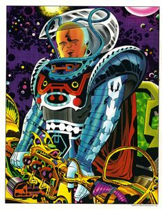 The Watcher by Jack Kirby