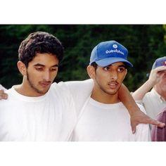 Rashid y Hamdan bin Mohammed bin Rashid Al Maktoum.