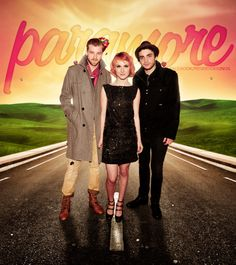 Paramore. Hayley Williams is gorgeous!
