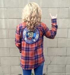 A personal favorite from my Etsy shop https://www.etsy.com/listing/291143959/vintage-grateful-dead-flannel-and-tee