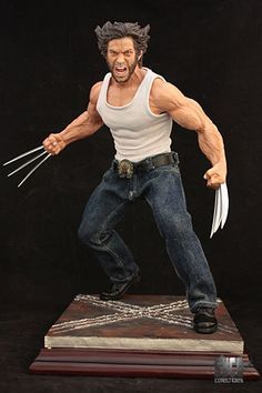 Syco Collectibles has sent along word on a new Marvel Statue. They have put up a listing for a Wolverine Mixed Media Statue that is based on Hugh Jackman's portrayal in the x-Men films. The statue stands just over 12″ tall. The base has built-in red LED lights and the jeans and shirt are made of material, to give a more authentic look. The statue is available now for $169. You can see more photos by clicking the headline of the story.