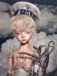 Alexei porcelain art doll | Flickr - by Marmite Sue