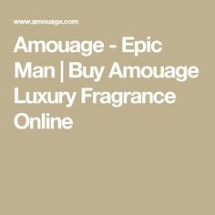 Amouage - Epic Man | Buy Amouage Luxury Fragrance Online Beauty & Personal Care - Fragrance - Women's - Luxury Fragrance - http://amzn.to/2ln4KSL