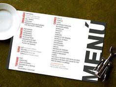 Cartas de Menú para Restaurantes. 50 Unidades x 55€+iva en Barcelona. Impresión y Envío Incluido. Servicio de Diseño Gráfico. Precios en www.jmwebs.com - Teléfono: 935160047