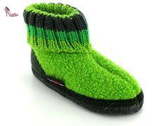 HAFLINGER kinderhausschuh paul - Vert - Canarygreen, 29 EU - Chaussures haflinger (*Partner-Link)