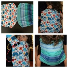 Tula Removable Reversible Baby Carrier Cover by KileysPoshTots