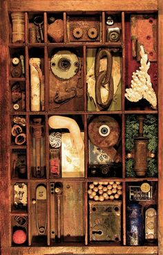 http://www.musingrelics.com/assemblages/
