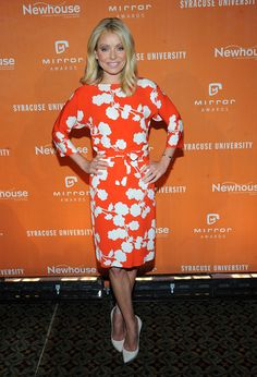 Kelly Ripa - Celebs Arrive at the Newhouse Mirror Awards