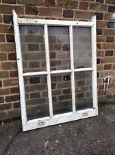 Reclaimed Old Georgian 6 panel Timber Frame Wooden Window