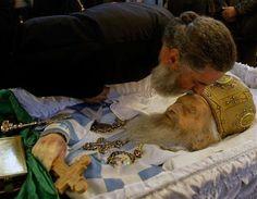 Serbs Bid Emotional Farewell To Patriarch Pavle Byzantine Icons, Serbian, Prayers, Spirituality, Faith, Beans, Prayer, Religion