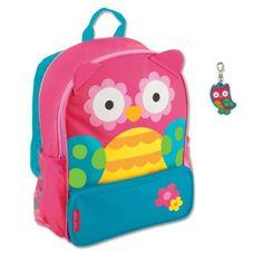 Stephen Joseph Sidekick Owl Backpack with Zipper Pull Cute Girls Backpacks      You can 2ec79bd136
