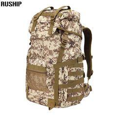 6deb4e4b85 2017 Men Nylon Travel Backpack Military Outside Knapsack Bagpack Man Large  Capacity Bag Tactics Trekking Backpacks    AliExpress Affiliate s Pin.