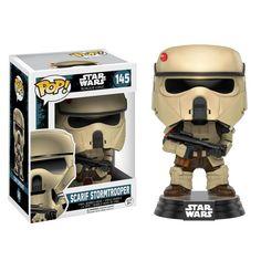 Funko POP! Vinyl Star Wars Bobble Head: Rogue One - Scarif Stormtrooper - 2 for £15 | ColThat.com