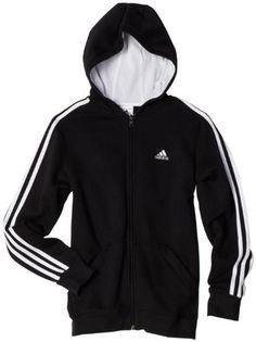 adidas Boys 8-20 Indicator Fleece Full-Zip Hoodie