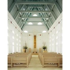 I would like to be married in a house of God. An elegant small church.